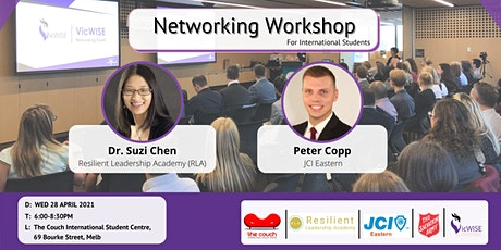 Networking Workshop for International Students tickets