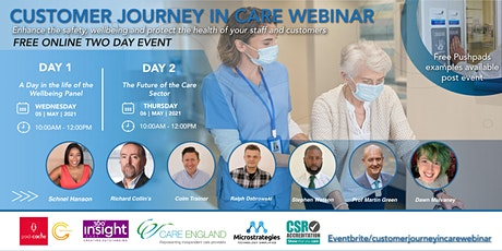 Customer Journey In Care Webinar tickets