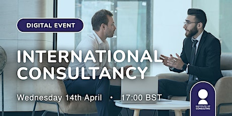 International Consultancy tickets