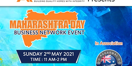 Maharashra Day Business networking event tickets