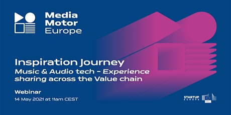 Music & Audio tech - Experience sharing across the value chain tickets