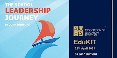 AoEA EduKIT - The School Leadership Journey, Sir John Dunford boletos