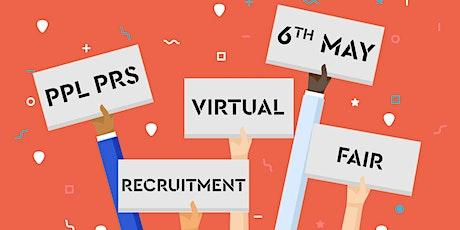 PPL PRS - VIRTUAL RECRUITMENT FAIR 2021 tickets