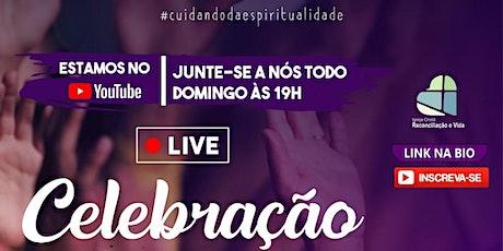 CELEBRAÇÃO DE DOMINGO - 18/04/21 ingressos