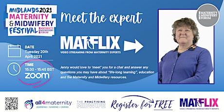 Meet The Expert - MATFLIX tickets