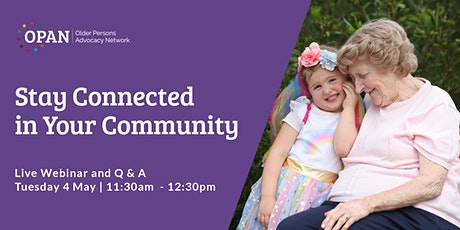 Stay Connected in Your Community tickets