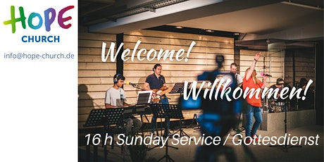 Sunday Service/Gottesdienst  18. April 16h Hope Church Munich tickets