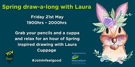 Spring draw-a-long with Laura tickets