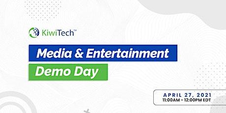 KiwiTech's Media & Entertainment Demo Day tickets