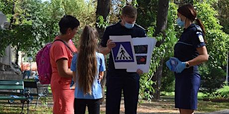 Atelier de educație pentru siguranță/ Vârstă participanți 6-14 ani tickets