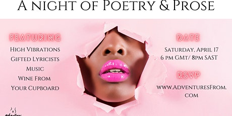 Night of Poetry and Prose tickets