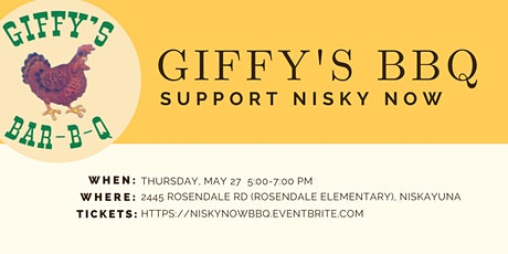 Giffy's BBQ Dinner to support Nisky NOW tickets