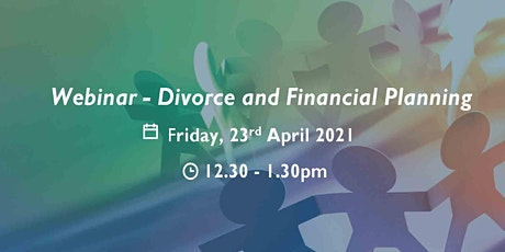 Webinar - Divorce and Financial Planning tickets