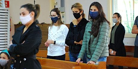 Missa Dom 18/04 - 19h - Paróquia Sant'Ana ingressos