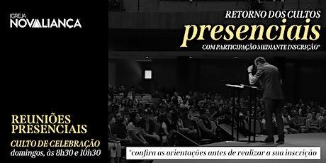 Culto Presencial INA Londrina - 10h30 ingressos