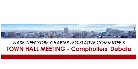 NASP-NY LEGISLATIVE COMMITTEE TOWN HALL MEETING - COMPTROLLERS' DEBATE tickets