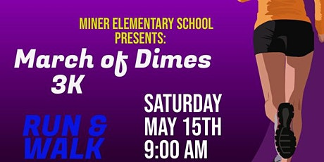 March of Dimes 3K Walk or Run tickets