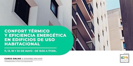 CONFORT TÉRMICO Y EFICIENCIA ENERGÉTICA EN EDIFICIOS DE USO HABITACIONAL entradas