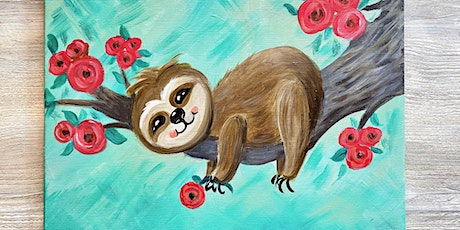 Hang In There Sloth-Painting Class in the Park tickets