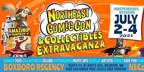 NorthEast ComicCon & Collectibles Extravaganza Independence Show tickets