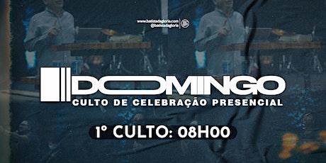 1a. CELEBRAÇÃO MANHÃ - 18/04 ingressos