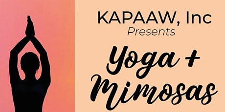 Yoga + Mimosas tickets