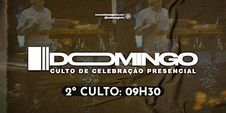 2a. CELEBRAÇÃO MANHÃ - 18/04 ingressos