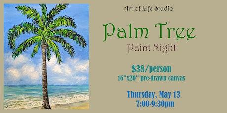 Paint Night: Palm Tree tickets
