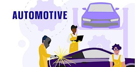 Virtual Open Evening - Automotive tickets