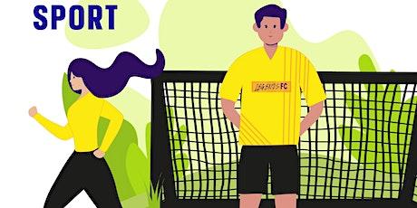 Virtual Open Evening - Sport tickets