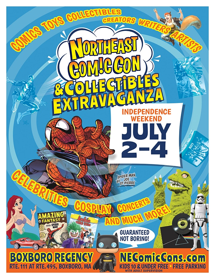 NorthEast ComicCon & Collectibles Extravaganza Independence Show image