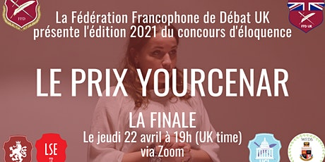 Prix Marguerite Yourcenar 2021 : la finale billets