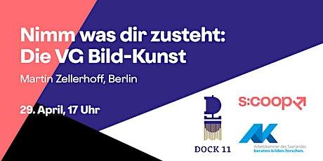 Online-Workshop »Nimm was dir zusteht: Die VG Bild-Kunst« Tickets