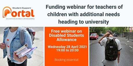 Disabled Students Allowance (DSA) Information Event - Teaching Profession tickets