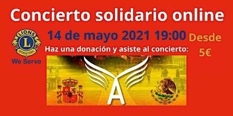Concierto Solidario Online con los Mariachis Angeles de Calimaya entradas