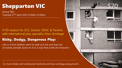 Risky Dodgy Dangerous Play  at Shepparton VIC tickets