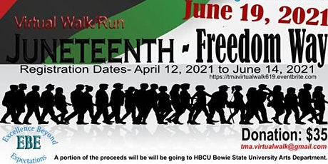 The Moore Alliance Booster Club Virtual Juneteenth Charity Walk Run tickets