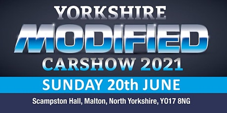 Yorkshire Modified Car Show 2021 - Public Admission & Camping Tickets tickets