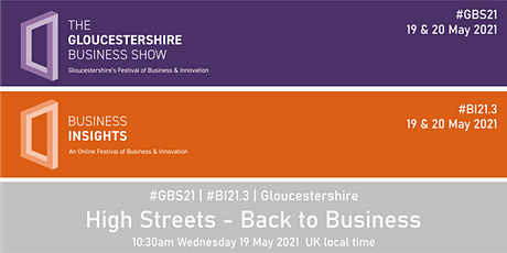 High Streets - Back to Business tickets