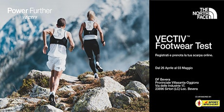 DF Sport Specialist Bevera - Vectiv Footwear Test biglietti