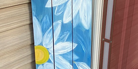Daisy Porch Leaner-Painting In The Park tickets