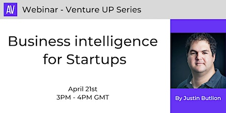 Business intelligence for Startups tickets