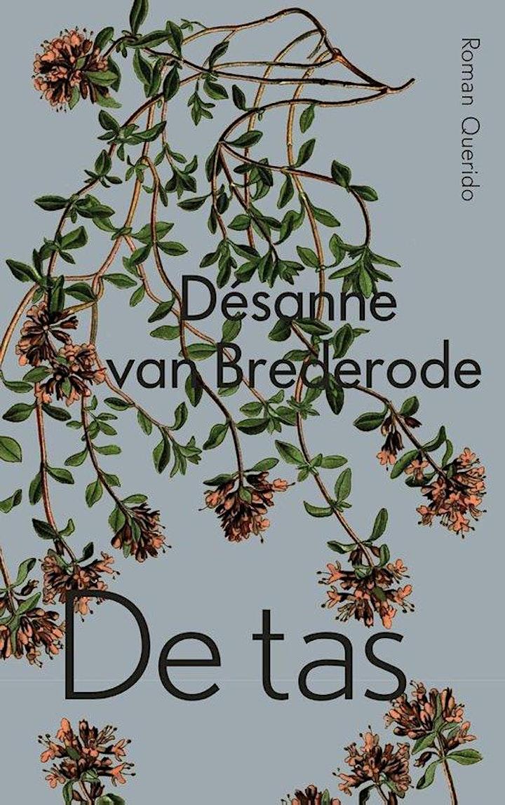 Afbeelding van Désanne van Brederode te gast in Literair Café Koppelkerk