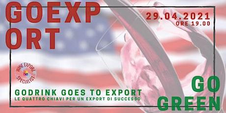Le Quattro Chiavi per un Export di successo biglietti
