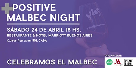 Positive Malbec Night entradas