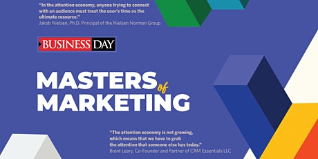 Masters of Marketing tickets