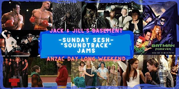 "Sunday Sesh ""Soundtrack"" Jams image"
