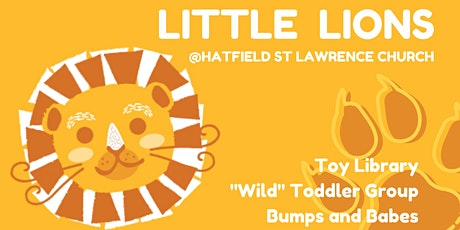 Little Lions Toy Library 29th April tickets