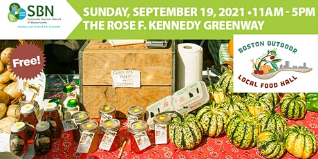 2021 Boston Outdoor Local Food Hall (Free!) tickets