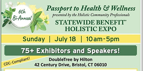Copy of Passport to Health and Wellness EXPO tickets